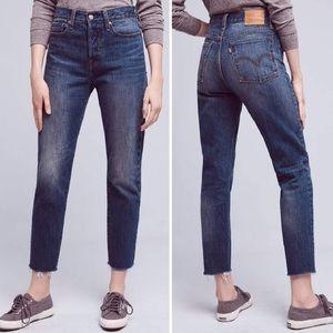 Levi's White Oak Wedgie Fit jeans